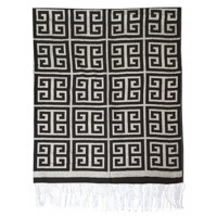 Anitra - Black/Gray - Throw