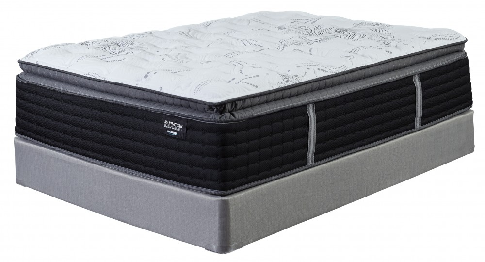 Manhattan Design District Plush PT   White   California King Mattress