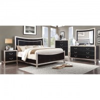 LIZA QUEEN BED 4 PC SET