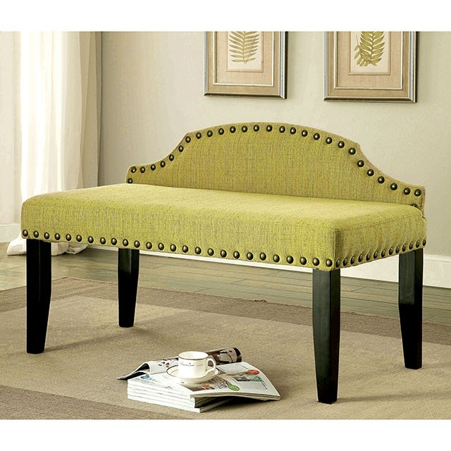 HASSELT SMALL BENCH, GREEN