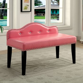 GWENYTH SMALL BENCH, PINK
