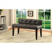 GALEN SMALL BENCH, BROWN