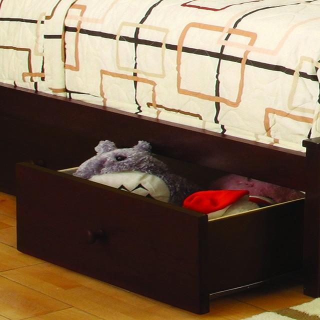 PINE RIDGE TWIN/TWIN BUNK BED W/ STEPS & DRAWERS