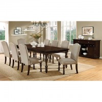 HURDSFIELD TABLE + 8 CHAIRS
