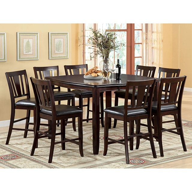 EDGEWOOD COUNTER HT TABLE 7 PC SET