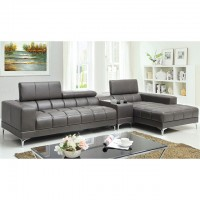 BOURDET SECTIONAL, GRAY