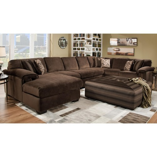 Rhino Beluga 3 Piece Sectional | 6500 Beluga | Sectional Couches ...