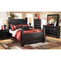 Shay Bedroom Set in Black