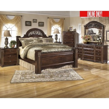 Gabriela Bedroom Set B347 Pkg Bedroom Packages The