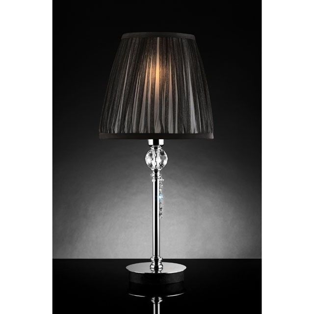 QUIANA TABLE LAMP, HANGING CRYSTAL (2/CTN)