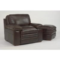 Penthouse Brown Leather Club Chair