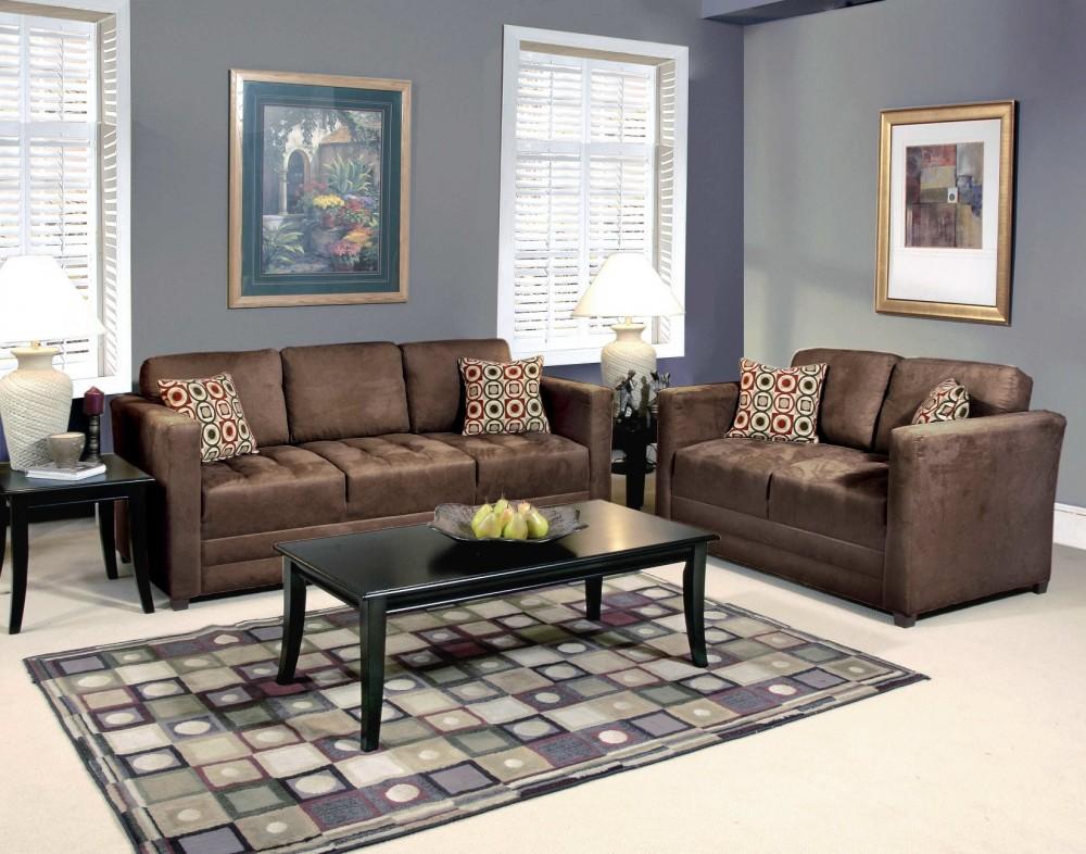 sienna chocolate sofa and loveseat 1085 living room sets rh webedealing com titan chocolate sofa and loveseat chocolate microfiber sofa and loveseat