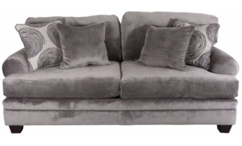 Smoke Grey Sofa And Loveseat