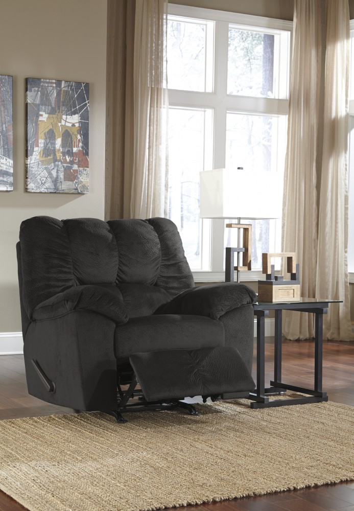 Julson - Ebony - Rocker Recliner