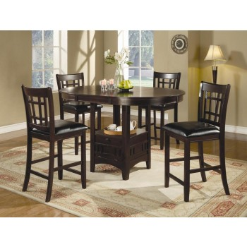 Lavon High Top Dining Collection - Dark Cappuccino