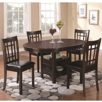 Lavon Low Top Dining Collection - Dark Cappuccino
