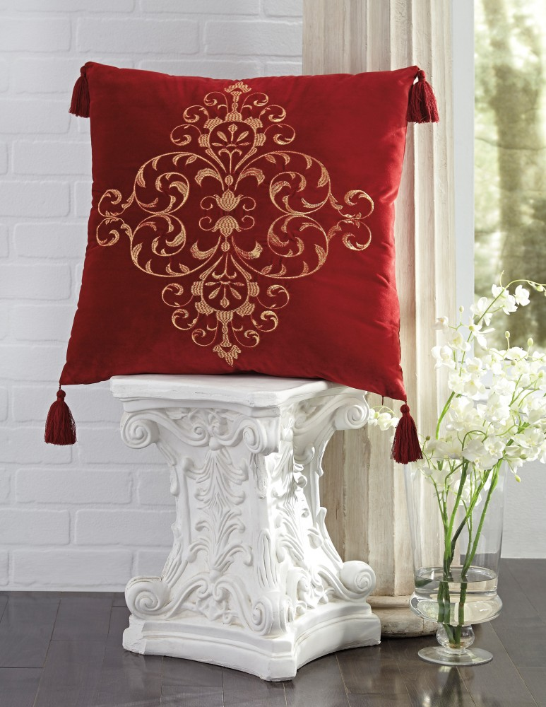 Amiela - Scarlet - Pillow