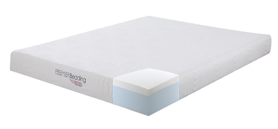 8 full memory foam mattress memory foam mattresses d l furniture. Black Bedroom Furniture Sets. Home Design Ideas