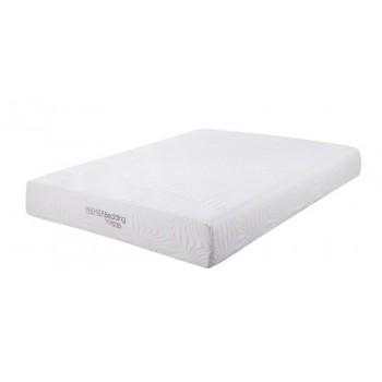 Key White 10-Inch California King Memory Foam Mattress