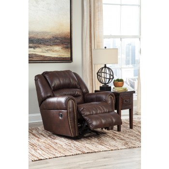 Manzanola - Chocolate - Rocker Recliner