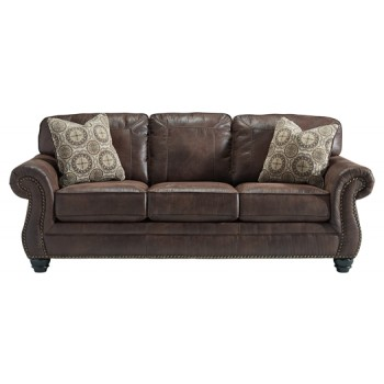 Breville - Espresso - Queen Sofa Sleeper