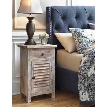Bedroom Accents - Light Brown - Door Accent Cabinet