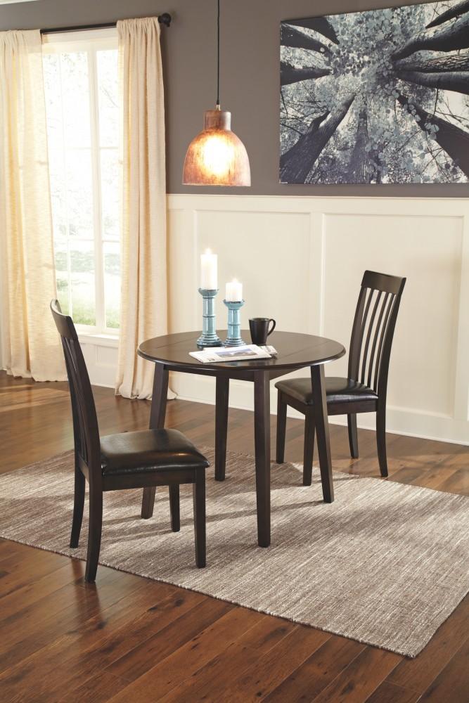 Drop Leaf Table Dining: Hammis - Round DRM Drop Leaf Table
