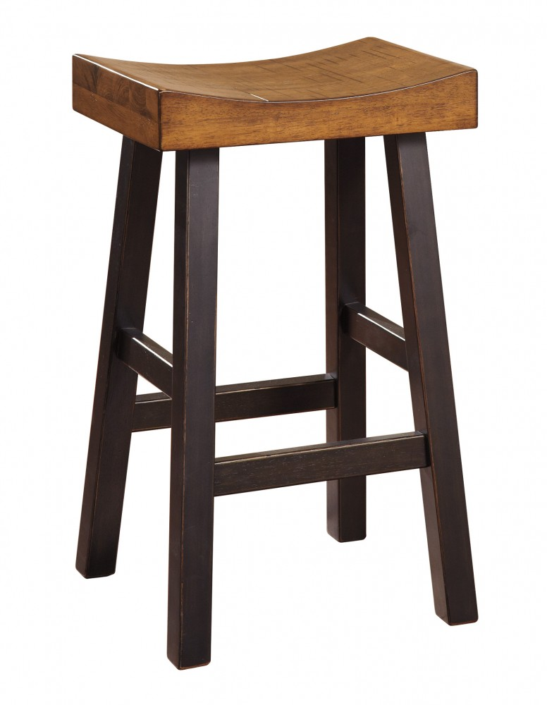 Glosco Two Tone Tall Stool Set Of 2 D548 030 Bar