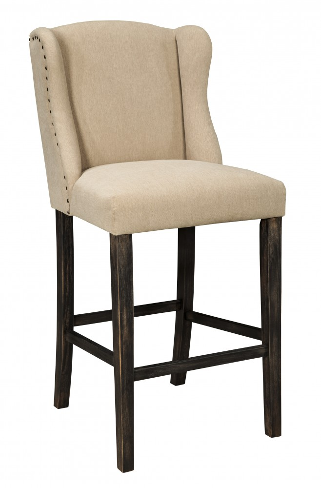 Moriann - Light Beige - Tall UPH Barstool (Set of 2)