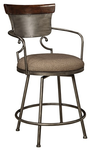 Groovy Moriann Two Tone Upholstered Barstool 1 Cn Theyellowbook Wood Chair Design Ideas Theyellowbookinfo