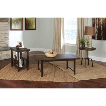 Riggerton - Occasional Table Set (Set of 3)