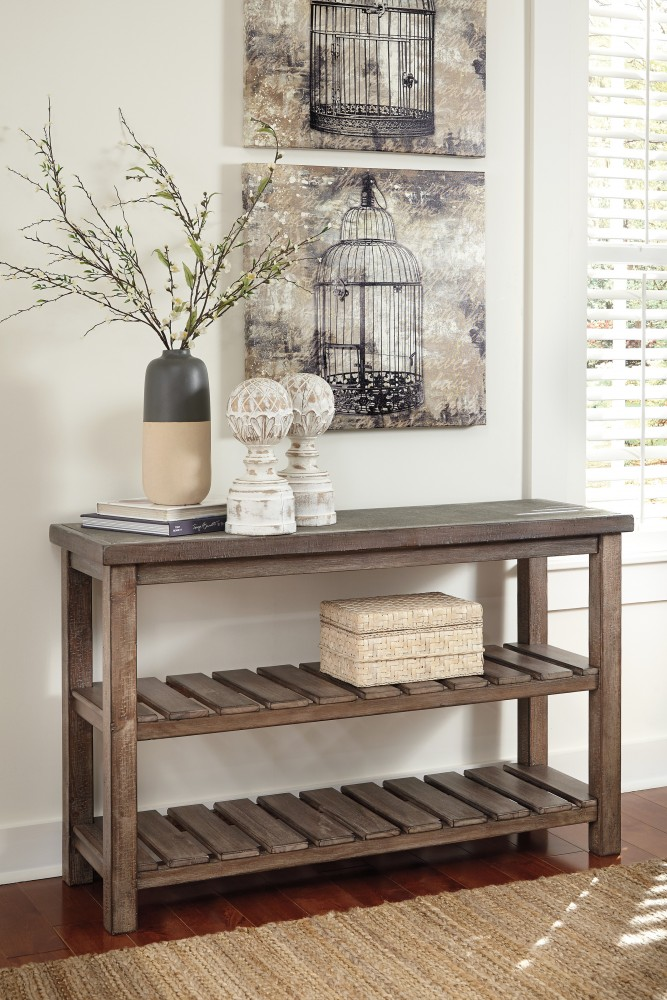 Rustic Accents - Sofa Table | T500-104 | Sofa Tables | Perryton ...