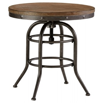 Rustic Accents - Round End Table