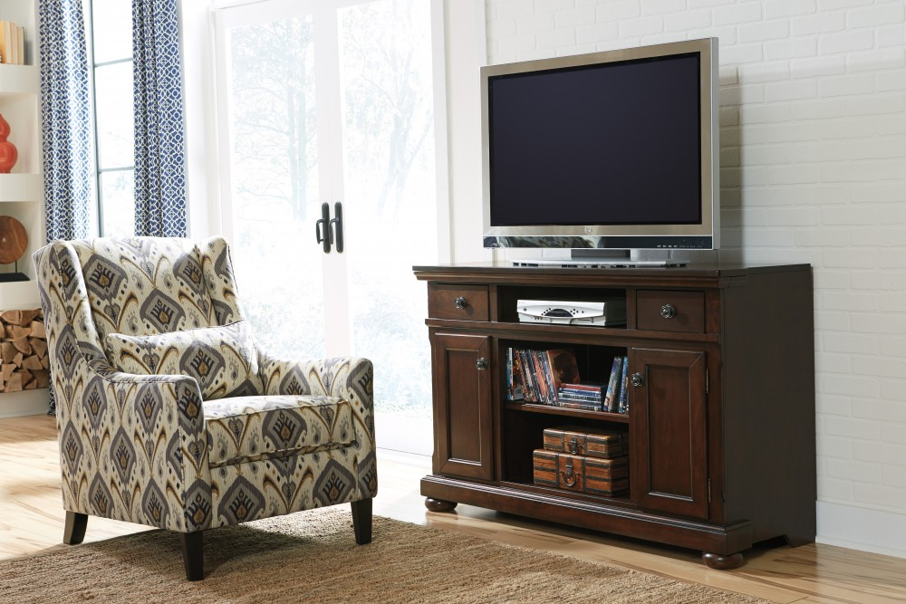 Porter - LG TV Stand w/Fireplace Option