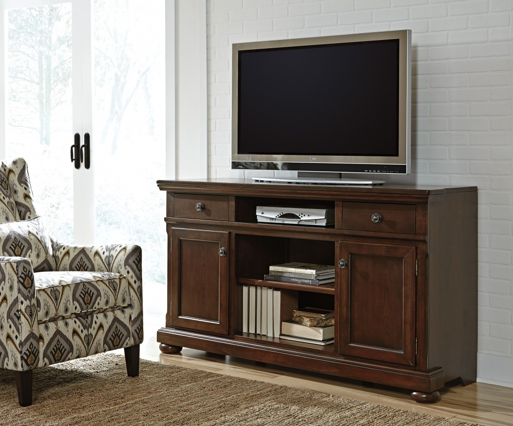 Porter - XL TV Stand w/Fireplace Option
