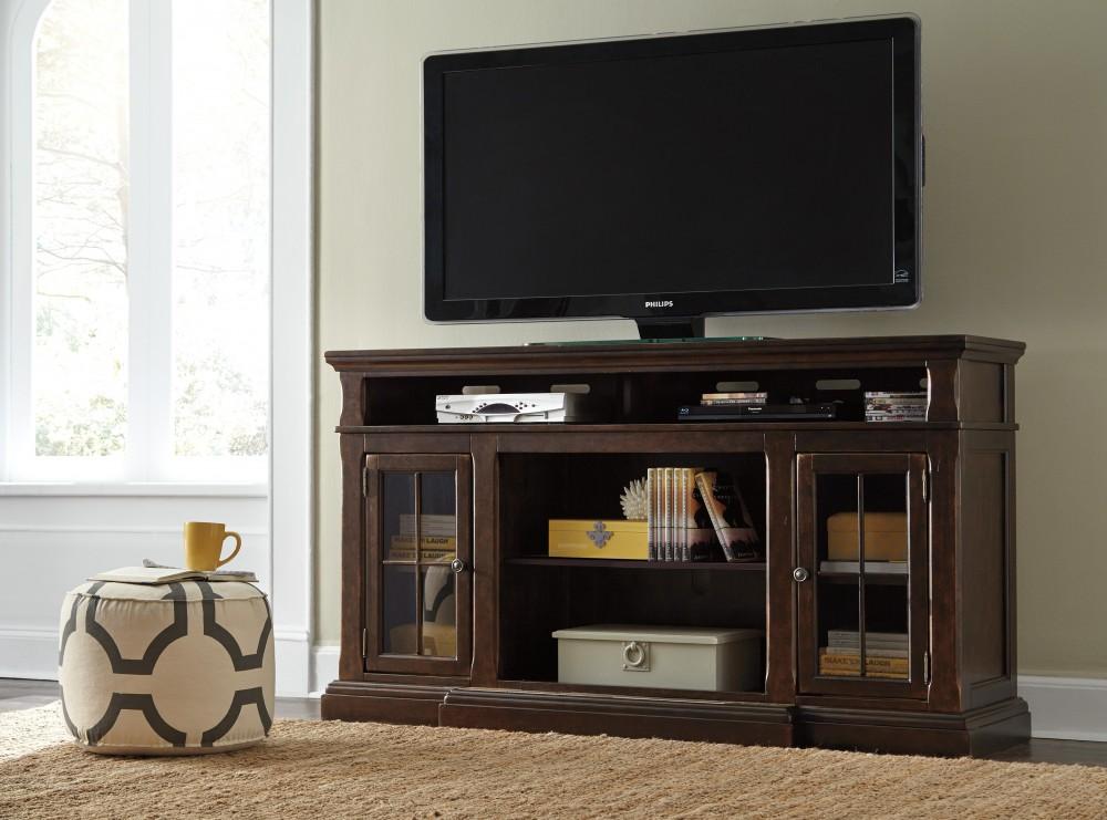 Roddinton - XL TV Stand w/Fireplace Option