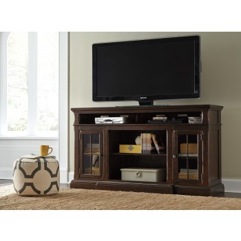 Roddinton - XL TV Stand w/Fireplace Option