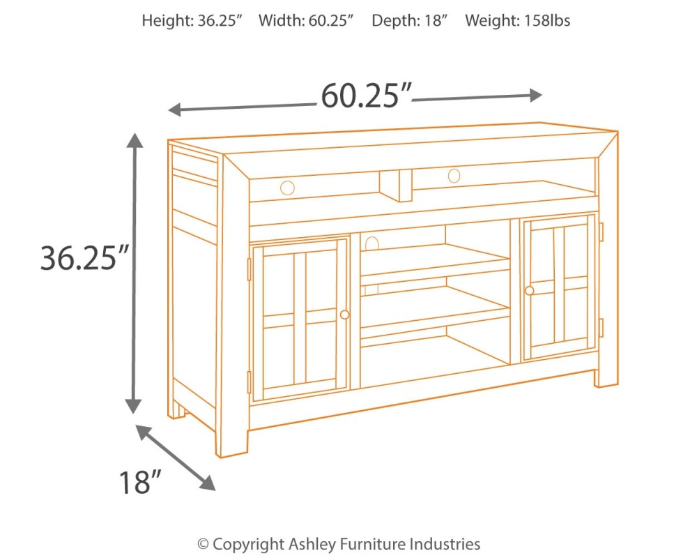 Gavelston 61 Large Tv Stand Tv Stand Wayside Furniture