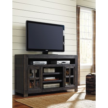 Gavelston - LG TV Stand w/Fireplace Option
