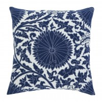 Medallion - Navy - Pillow Cover