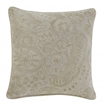 Stitched - Natural - Pillow Cover