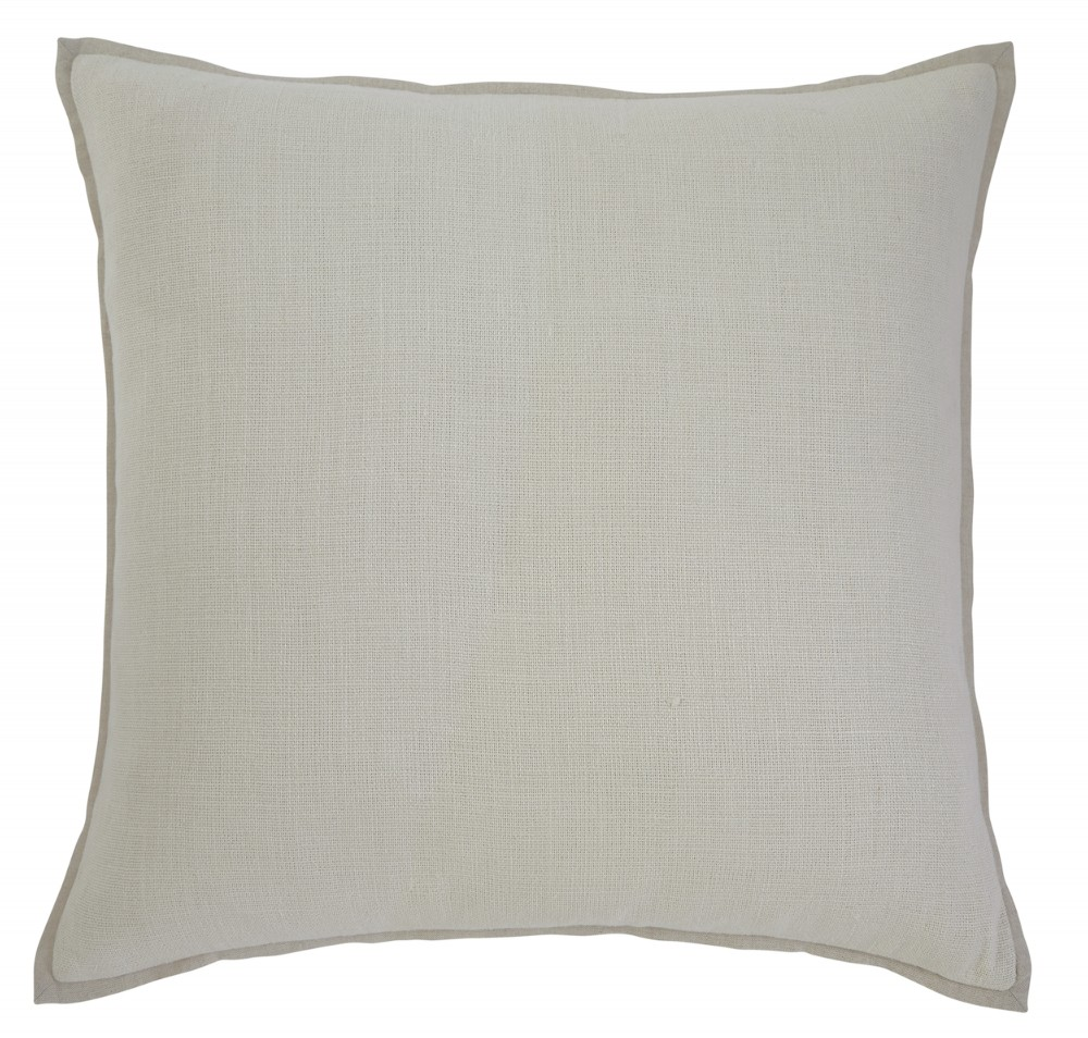 Solid - Ecru - Pillow Cover
