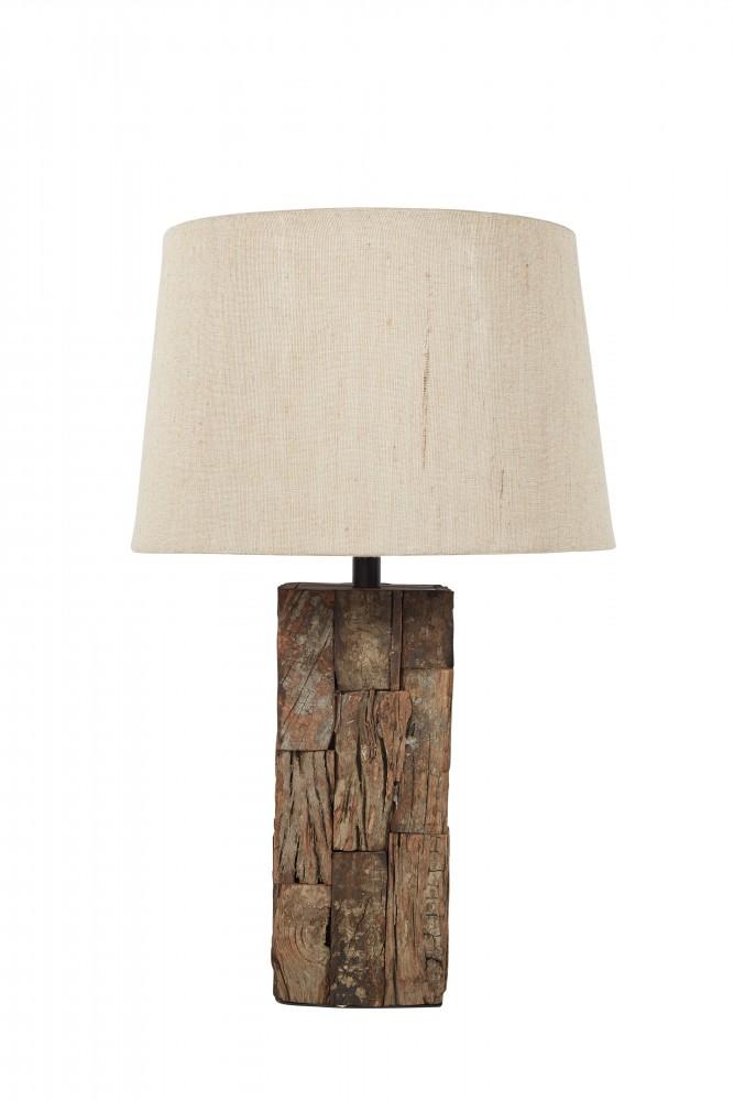 Table Lamp - Wood Table Lamp (1/CN)