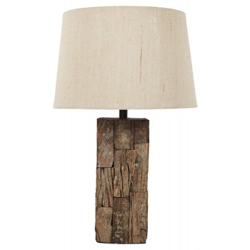 Table Lamp - Wood Table Lamp (1/CN)