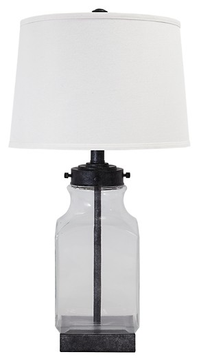 Table Lamp Glass Table Lamp 1 Cn L430144 Lamps Max Fine