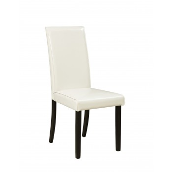 Kimonte - White -  Dining UPH Side Chair (Set of 2)