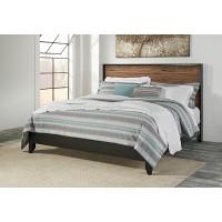 Stavani King Panel Bed