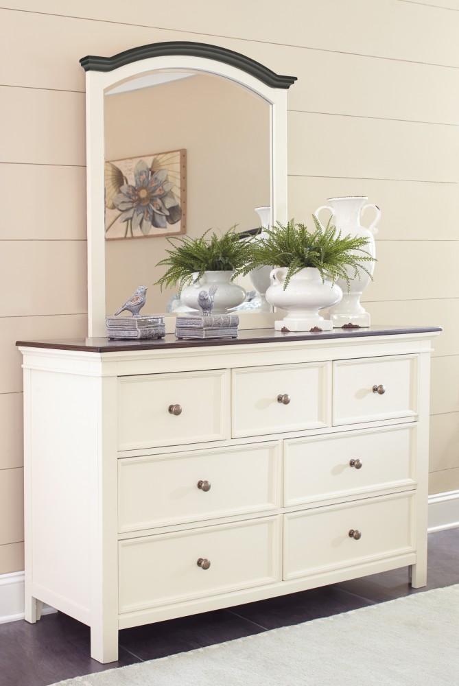 Woodanville Dresser & Mirror