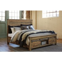 Sommerford Cal King Panel Bed with Storage