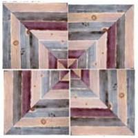 Four-Piece Rustic Plank Wall Art